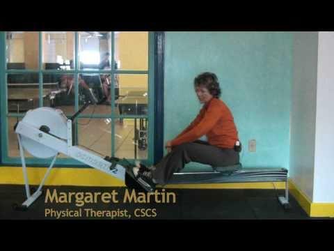 rowing machine form