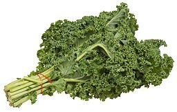 calcium content of kale