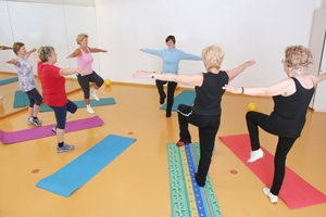 Balance exercises for elderly