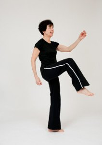 marching in place | osteoporosis exercise