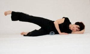 side lying leg lift • side leg raise