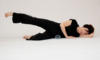 exercise plans | side lying leg lifts