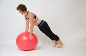 Stability Ball Plank Exercises