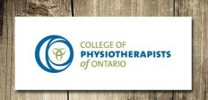 award of distinction; college of physiotherapists of ontario