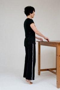 heel drop exercise • step 2