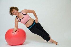 side plank exercise roll for beginner