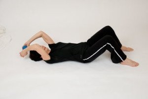 triceps extension from floor osteoporosis exercise
