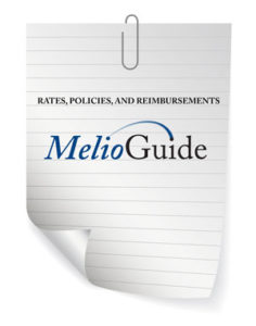 MelioGuide Physical Therapy rates and policies and reimbursements