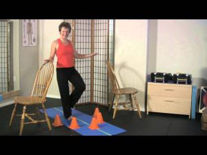 Single Leg Reach Balance Exercise for Athletic