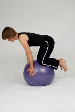 balance ball exercise