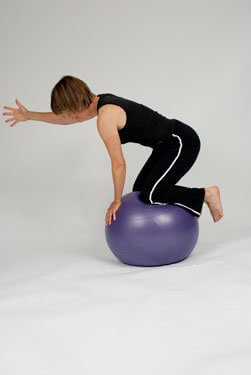 balance ball exercises
