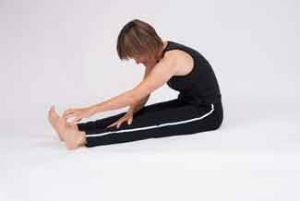 Hamstring Stretch 2 • Not Recommended for People with Osteoporosis