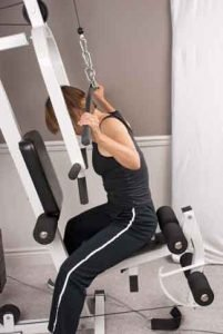 lat pull down •osteoporosis exercise contraindications