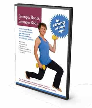 Stronger Bones Stronger Body Exercise Workout DVD