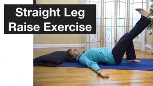 active straight leg raise exercise for physical therapy