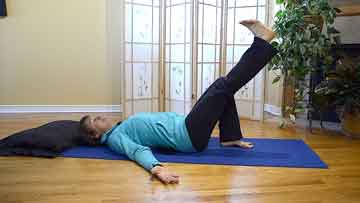 straight leg raise exercise melioguide physical therapy