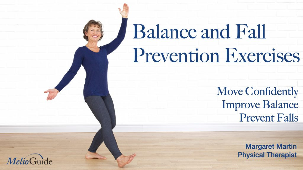balance and fall prevention exercise video by physiotherapist margaret martin