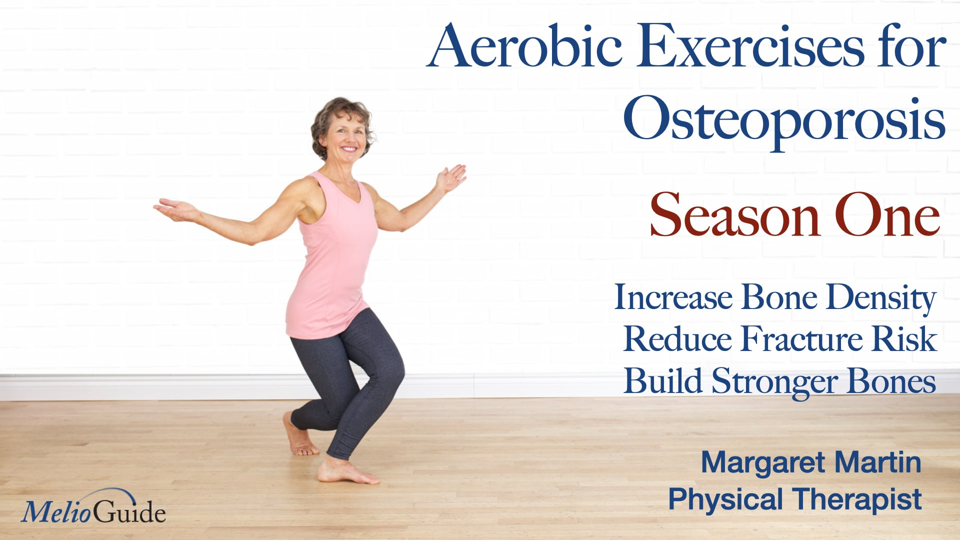 aerobic exercise video part 1 by physiotherapist margaret martin