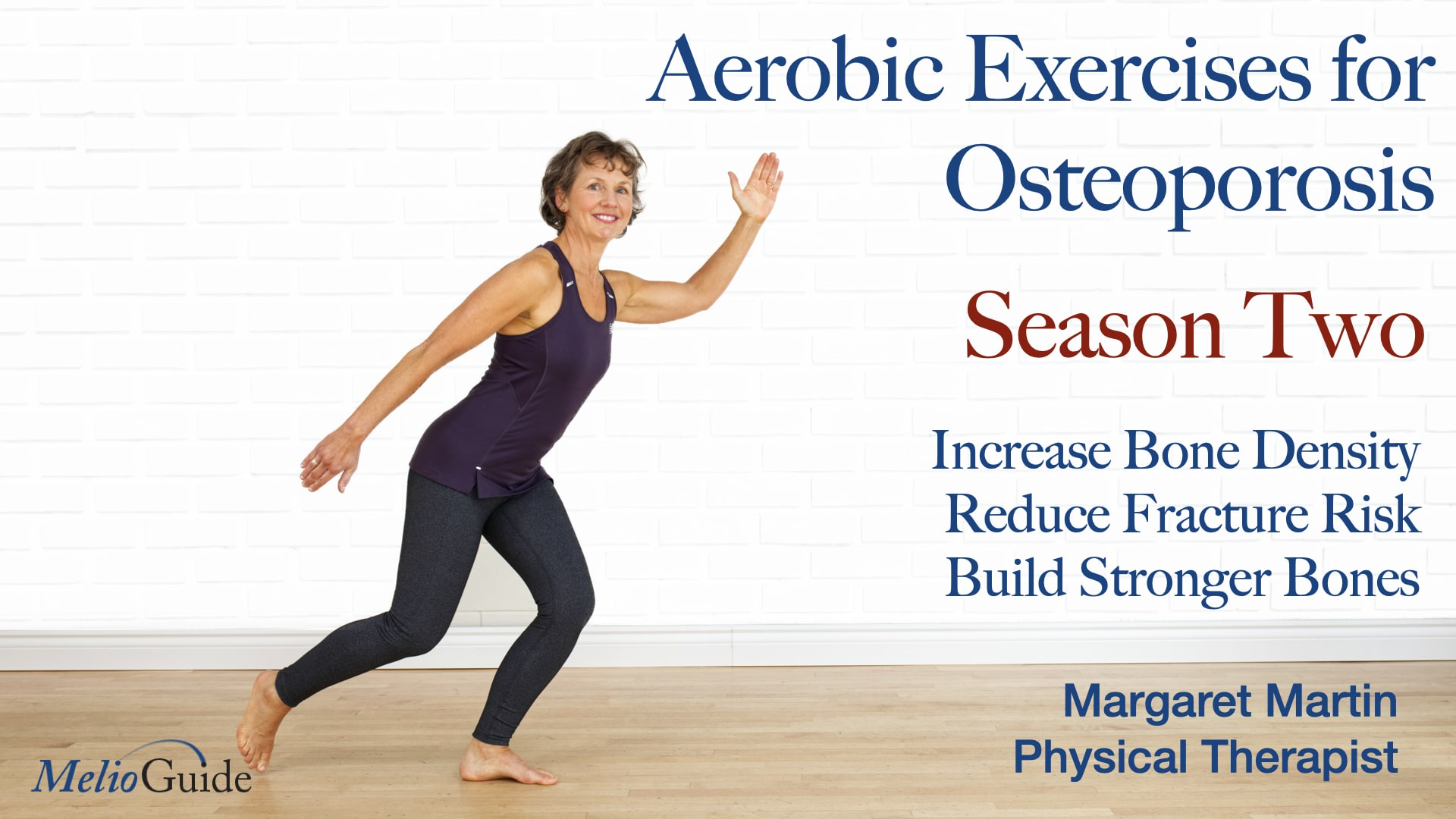 aerobic exercise video part 2 by physiotherapist margaret martin