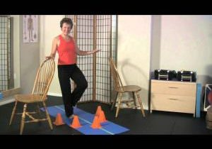 Single Leg Reach Balance Exercise for Athletic